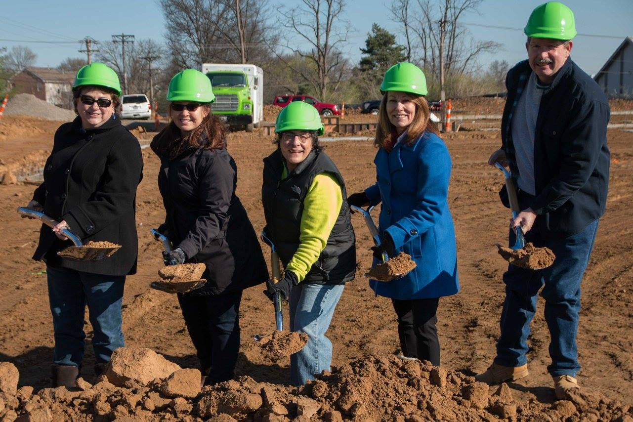 City Council Members at Groundbreaking