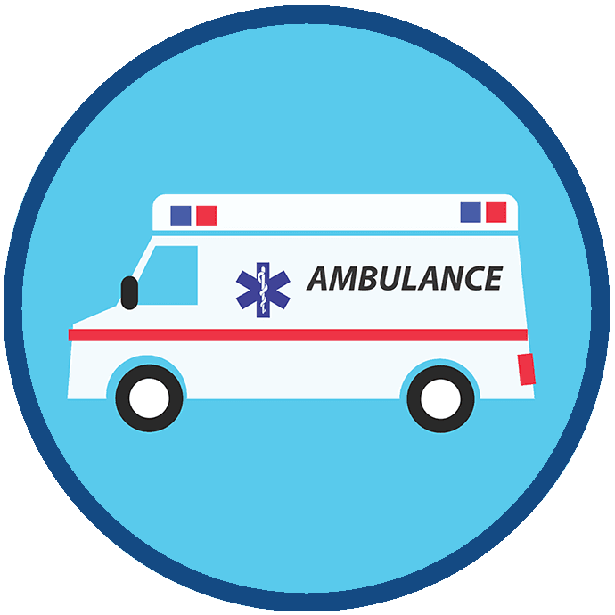 EMS Services Button